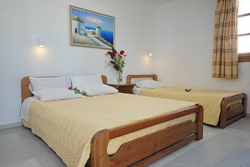 Accommodation Studios Rooms Almare in Naxos Island Greece - Saint George Beach in Chora